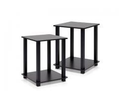 Furinno 12127EX/BK Simplistic End Table