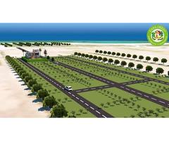 terrain 150 m² vue de mer