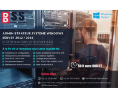 #Formation 100% Pratique et préparation au certificat #Windows #Server#MCSA