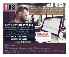 Certification OCAJP / OCPJP JAVA8
