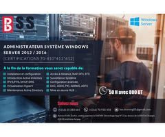 Formation 100% Pratique et préparation au certificat Windows Server MCSA