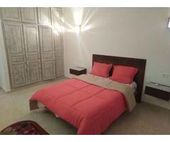 Appartement  meublé a louer a borj cedria zone touristique