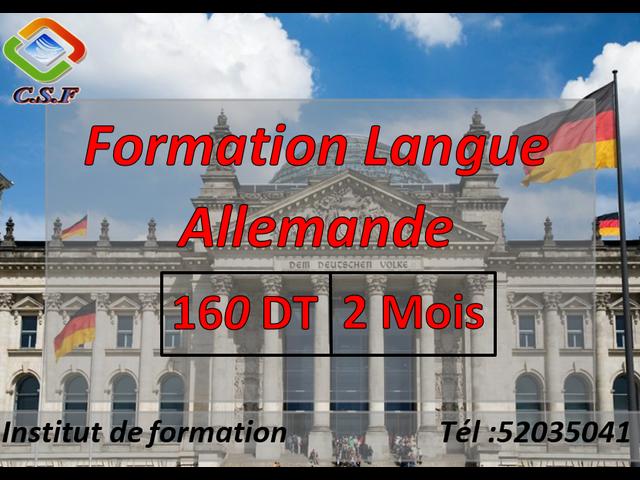 formation langue Allemande - 1