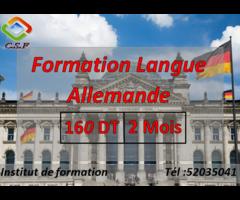 formation langue Allemande