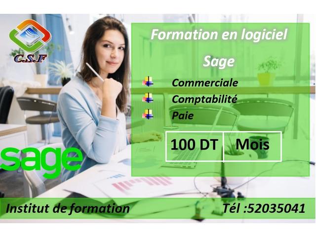 Formation en logiciel Sage - 1