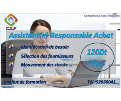 Formation Assistant(e) Responsable Achat