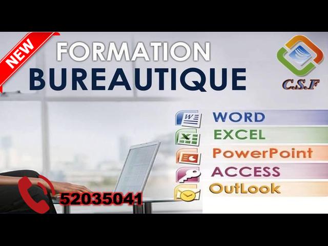 FORMATION BUREAUTIQUE - 1