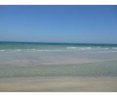 Terrain au bord de la plage d'ezzahra Nabeul - Image 1/3